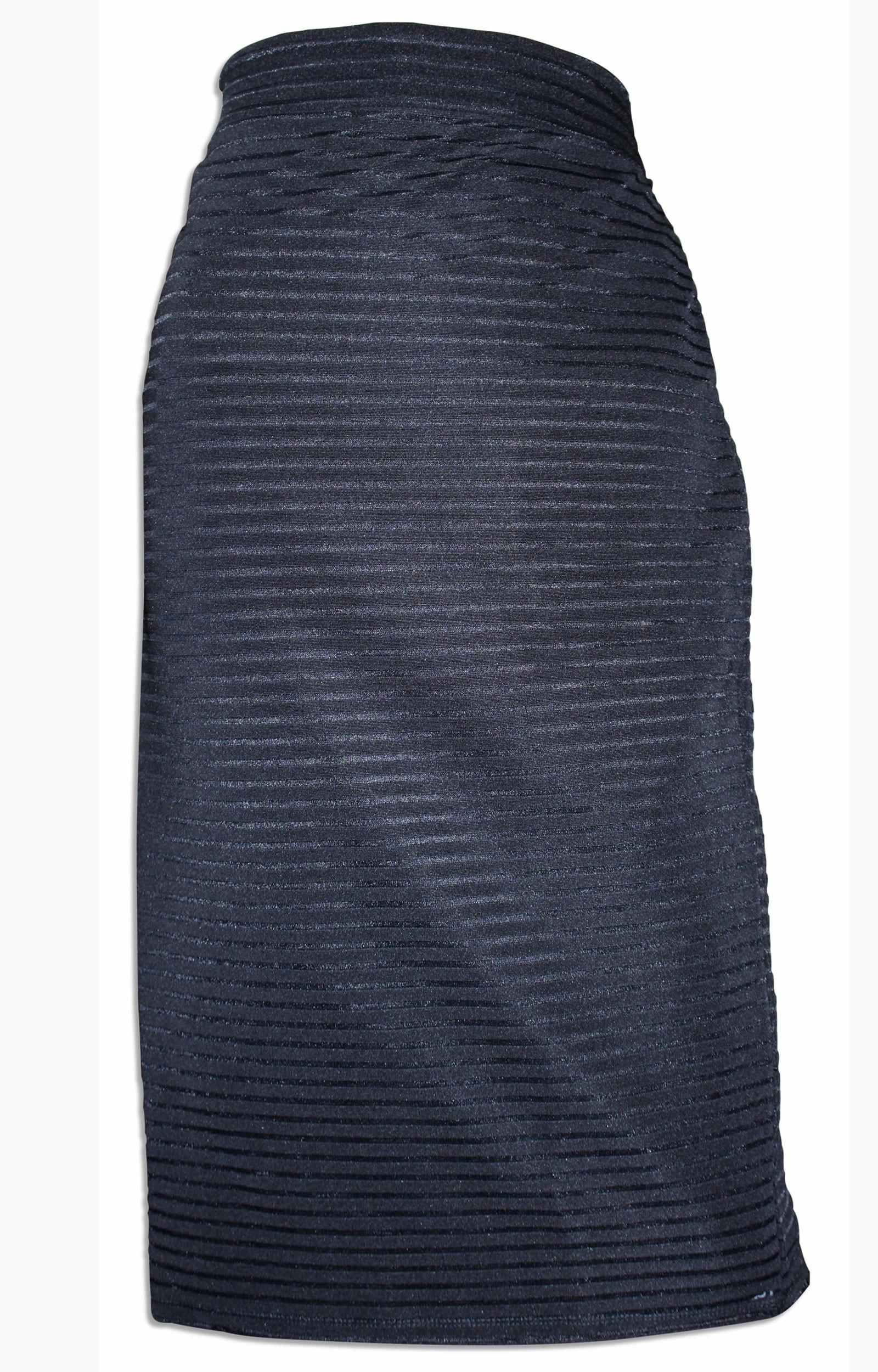 4a580ce6d877 Wholesale DP Black Plus Size Skirt
