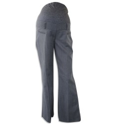 Ex Debs Grey Smart Maternity Trousers - 12 Pack