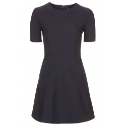 Ex TS Navy Skater Dress - 12 Pack