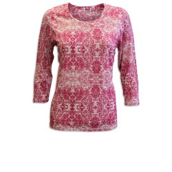 Ex E@stex Paisley 3/4  Sleeve Top - 12 Pack
