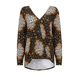 Ex WLS Animal Print Top - 12 Pack