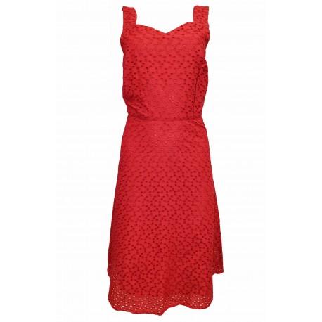 Ex MS P@r Una Spot Floral Twist Front Dress -  12 Pack