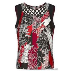 Ex Roman Origin@ls Floral Sleeveless Top