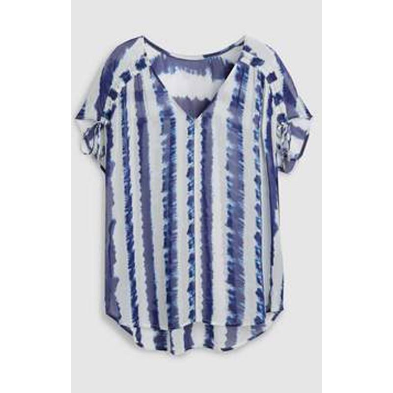 16d9c5b54ffe52 Ex N@xt striped Tye Dye Top - 12 pack