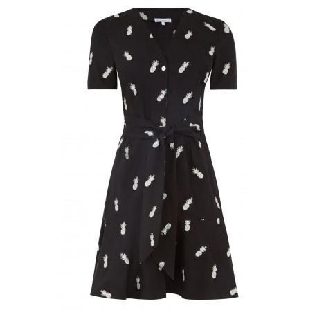 Ex W@rehouse Animal Print Shirt Dress -  12 Pack
