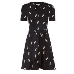 Ex W@rehouse Pineapple Print Shirt Dress -  12 Pack