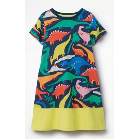 Girls Ex Mini B@d@n Unicorn Print Dress - 20 pack