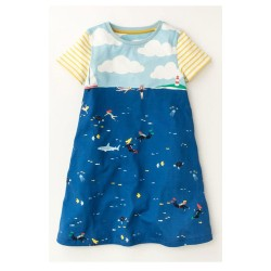 Girls Ex Mini B@d@n Print Dress - 20 pack