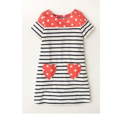 Girls Ex Mini B@d@n Print Dress - 20 pack