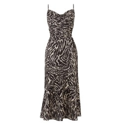 Ex O@sis Zebra Print Dress -  12 Pack