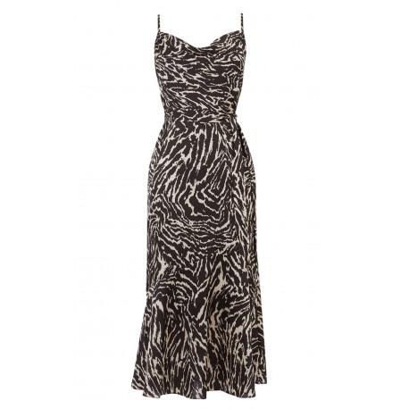 Ex O@sis Zebra Print Dress -  12 Pack