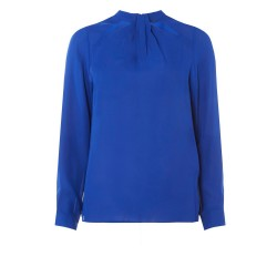 Ex DP Blue Long Sleeve Blouse  - 12 Pack