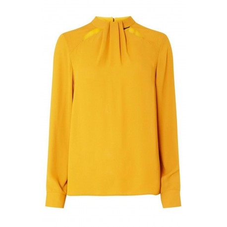 Ex DP mustard Long Sleeve Blouse  - 12 Pack